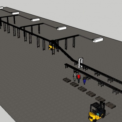 3D conveyor design