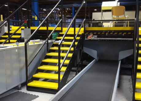 Carpet Tile Handling Line