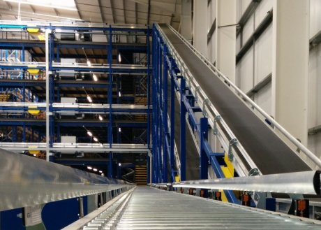 Advance conveyor investment benefits warehouse productivity at Andrew James