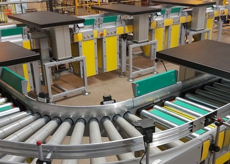 automated assembly conveyors
